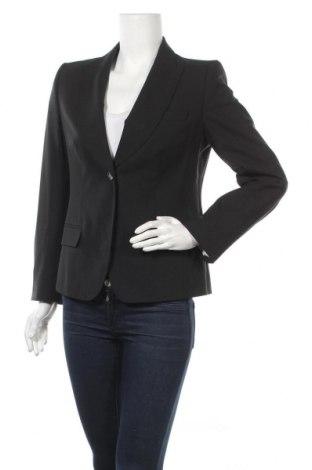 Дамско сако Rene Lezard, Размер M, Цвят Черен, 96% вълна, 4% еластан, Цена 11,03лв.