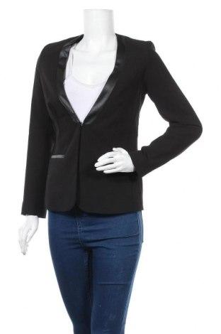 Γυναικείο σακάκι Top Secret, Μέγεθος S, Χρώμα Μαύρο, 80% πολυεστέρας, 15% βισκόζη, 5% ελαστάνη, Τιμή 11,47€