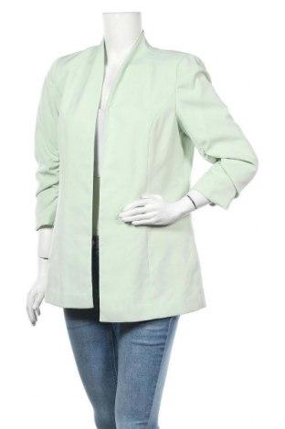 Дамско сако Vila, Размер L, Цвят Зелен, 95% полиестер, 5% еластан, Цена 26,22лв.