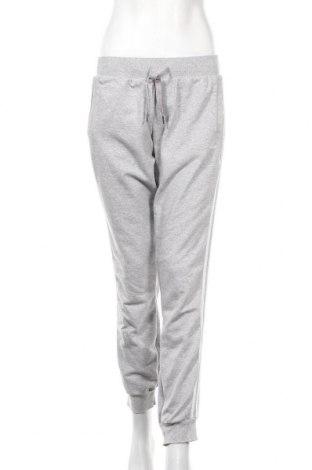 Γυναικείο αθλητικό παντελόνι Adidas, Μέγεθος M, Χρώμα Γκρί, 60% βαμβάκι, 40% πολυεστέρας, Τιμή 24,68€