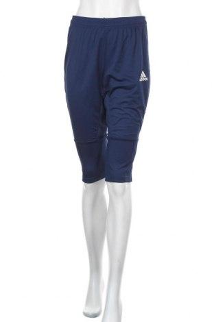Γυναικείο αθλητικό παντελόνι Adidas, Μέγεθος S, Χρώμα Μπλέ, Πολυεστέρας, Τιμή 38,27€
