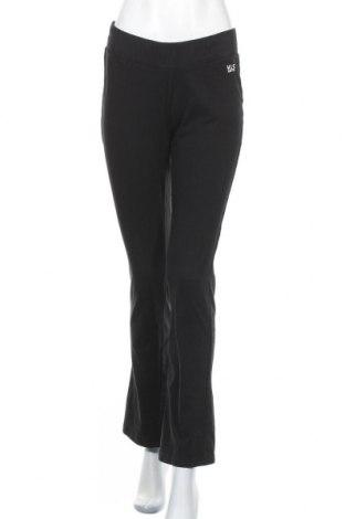 Γυναικείο αθλητικό παντελόνι Henry I. Siegel, Μέγεθος L, Χρώμα Μαύρο, 95% βαμβάκι, 5% ελαστάνη, Τιμή 11,88€