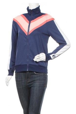 Γυναικεία αθλητική ζακέτα Lascana, Μέγεθος XS, Χρώμα Μπλέ, 95% πολυεστέρας, 5% ελαστάνη, Τιμή 14,38€