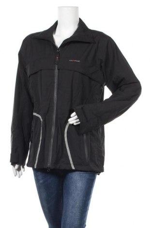 Дамско спортно яке, Размер L, Цвят Черен, Полиестер, Цена 12,13лв.