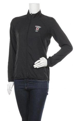Γυναικείο μπουφάν αθλητικό Adidas, Μέγεθος S, Χρώμα Μαύρο, Πολυεστέρας, Τιμή 11,82€