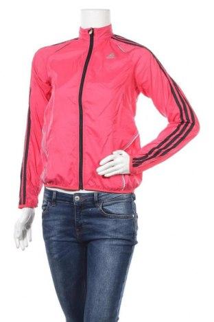Γυναικεία αθλητική ζακέτα Adidas, Μέγεθος S, Χρώμα Ρόζ , Πολυεστέρας, Τιμή 11,69€