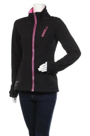 Дамско спортно яке Blind Date, Размер M, Цвят Черен, 94% полиестер, 6% еластан, Цена 23,94лв.