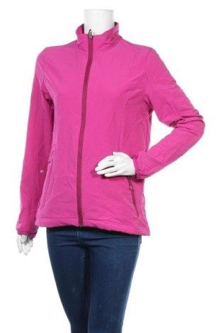 Дамско спортно яке Crane, Размер M, Цвят Розов, 91% полиестер, 9% еластан, Цена 13,38лв.