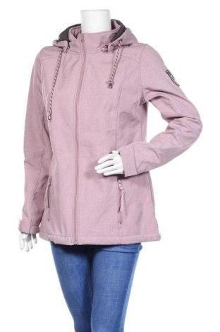 Дамско спортно яке Gina Benotti, Размер L, Цвят Розов, 96% полиестер, 4% еластан, Цена 32,34лв.