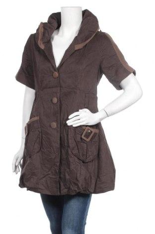 Дамско яке, Размер M, Цвят Кафяв, Цена 13,61лв.