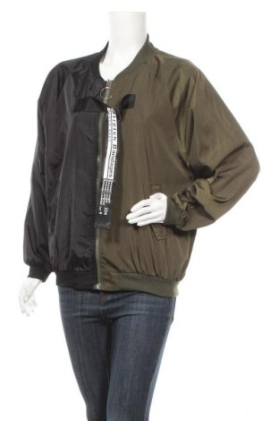 Дамско яке, Размер L, Цвят Зелен, 65% полиестер, 35% памук, Цена 33,92лв.