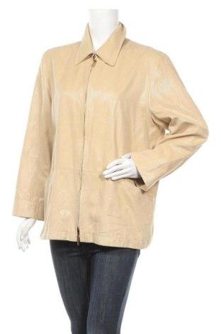 Дамско яке Cf, Размер XL, Цвят Бежов, 97% полиестер, 3% полиуретан, Цена 9,19лв.