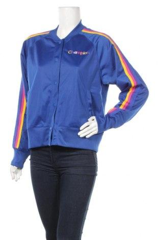 Γυναικείο μπουφάν Champion, Μέγεθος XL, Χρώμα Μπλέ, Πολυεστέρας, Τιμή 30,39€