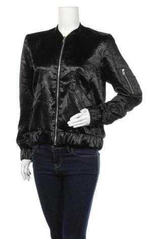 Дамско яке H&M, Размер M, Цвят Черен, Полиестер, Цена 11,03лв.