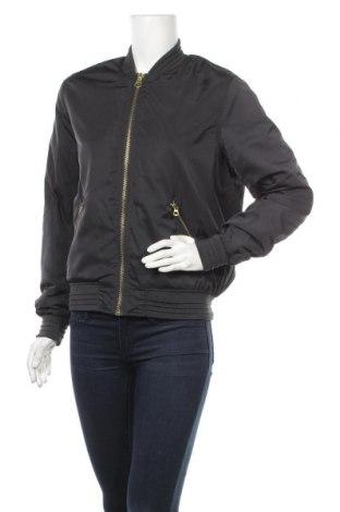 Дамско яке H&M L.O.G.G., Размер XS, Цвят Черен, 100% полиестер, Цена 19,61лв.