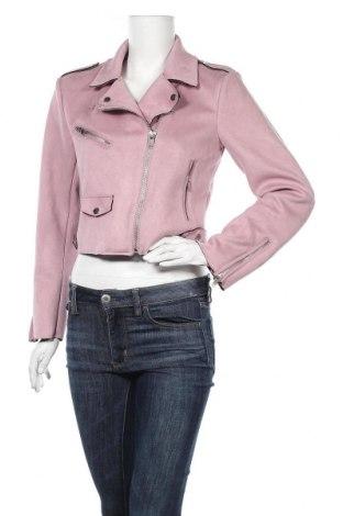 Γυναικείο μπουφάν ONLY, Μέγεθος M, Χρώμα Βιολετί, Πολυεστέρας, Τιμή 24,74€