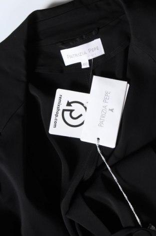 Дамско яке Patrizia Pepe, Размер S, Цвят Черен, 97% вискоза, 3% еластан, Цена 34,02лв.