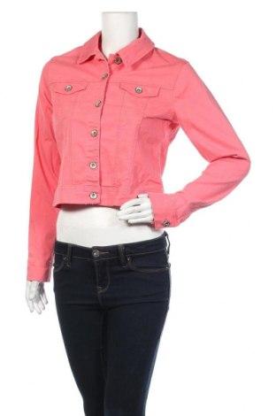 Γυναικείο μπουφάν Up 2 Fashion, Μέγεθος S, Χρώμα Ρόζ , 98% βαμβάκι, 2% ελαστάνη, Τιμή 19,74€