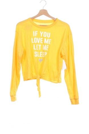 Παιδική μπλούζα, Μέγεθος 11-12y/ 152-158 εκ., Χρώμα Κίτρινο, 60% βαμβάκι, 40% πολυεστέρας, Τιμή 8,87€