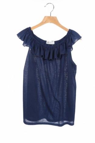 Παιδική μπλούζα H&M, Μέγεθος 12-13y/ 158-164 εκ., Χρώμα Μπλέ, Πολυεστέρας, Τιμή 6,75€