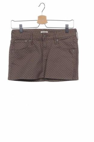 Παιδική φούστα H&M, Μέγεθος 14-15y/ 168-170 εκ., Χρώμα Καφέ, 97% βαμβάκι, 3% ελαστάνη, Τιμή 7,49€