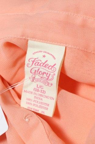 Детска риза Faded Glory, Размер 10-11y/ 146-152 см, Цвят Розов, Полиестер, Цена 2,00лв.
