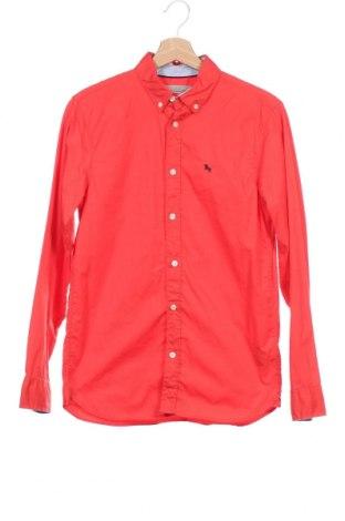 Детска риза H&M L.O.G.G., Размер 14-15y/ 168-170 см, Цвят Червен, Памук, Цена 16,80лв.