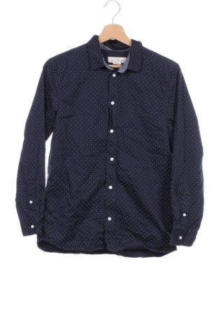 Детска риза H&M L.O.G.G., Размер 14-15y/ 168-170 см, Цвят Син, Памук, Цена 15,75лв.