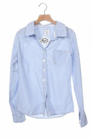 Детска риза H&M L.O.G.G., Размер 11-12y/ 152-158 см, Цвят Син, Памук, Цена 15,75лв.