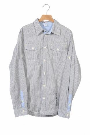 Παιδικό πουκάμισο S.Oliver, Μέγεθος 13-14y/ 164-168 εκ., Χρώμα Μπλέ, Βαμβάκι, Τιμή 5,85€