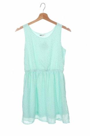 Παιδικό φόρεμα H&M, Μέγεθος 12-13y/ 158-164 εκ., Χρώμα Πράσινο, 100% πολυεστέρας, Τιμή 7,86€
