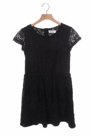 Παιδικό φόρεμα H&M, Μέγεθος 11-12y/ 152-158 εκ., Χρώμα Μαύρο, 52% βαμβάκι, 48% πολυαμίδη, Τιμή 7,50€