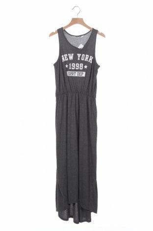 Παιδικό φόρεμα H&M, Μέγεθος 12-13y/ 158-164 εκ., Χρώμα Γκρί, 65% πολυεστέρας, 35% βισκόζη, Τιμή 9,29€