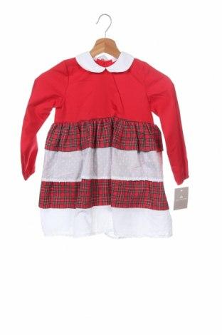 Παιδικό φόρεμα Lola Palacios, Μέγεθος 5-6y/ 116-122 εκ., Χρώμα Κόκκινο, 50% βαμβάκι, 50% πολυεστέρας, Τιμή 16,70€
