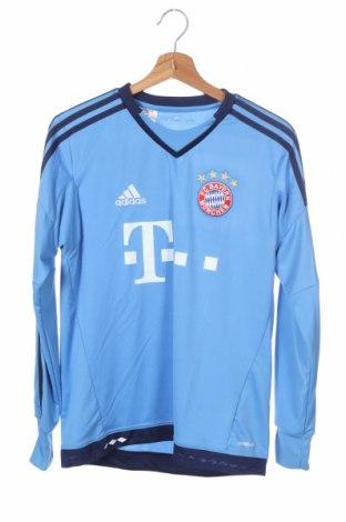 Παιδική μπλούζα αθλητική Adidas, Μέγεθος 15-18y/ 170-176 εκ., Χρώμα Μπλέ, Πολυεστέρας, Τιμή 14,94€