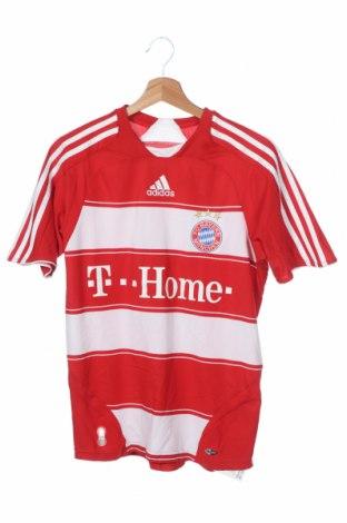 Παιδική μπλούζα αθλητική Adidas, Μέγεθος 13-14y/ 164-168 εκ., Χρώμα Κόκκινο, Πολυεστέρας, Τιμή 18,19€
