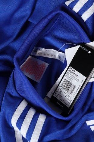 Παιδική μπλούζα αθλητική Adidas, Μέγεθος 15-18y/ 170-176 εκ., Χρώμα Μπλέ, Πολυεστέρας, Τιμή 12,06€