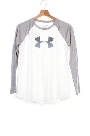 Παιδική μπλούζα αθλητική Under Armour, Μέγεθος 11-12y/ 152-158 εκ., Χρώμα Λευκό, Τιμή 10,00€