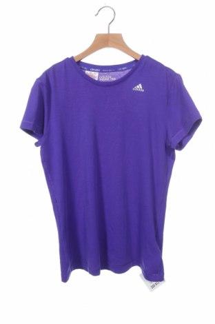 Παιδικό μπλουζάκι Adidas, Μέγεθος 12-13y/ 158-164 εκ., Χρώμα Βιολετί, 97% πολυεστέρας, 3% ελαστάνη, Τιμή 14,29€