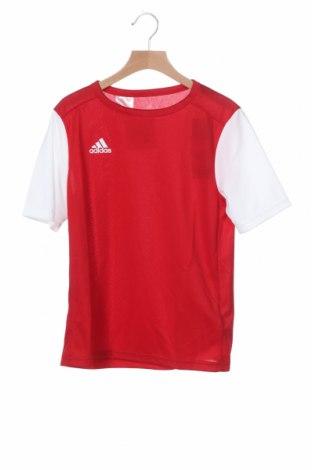 Παιδικό μπλουζάκι Adidas, Μέγεθος 11-12y/ 152-158 εκ., Χρώμα Κόκκινο, Πολυεστέρας, Τιμή 21,65€