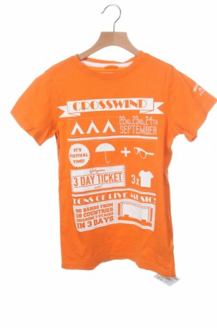 Παιδικό μπλουζάκι Dognose, Μέγεθος 10-11y/ 146-152 εκ., Χρώμα Πορτοκαλί, Βαμβάκι, Τιμή 5,00€