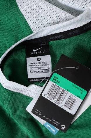 Παιδικό μπλουζάκι Nike, Μέγεθος 12-13y/ 158-164 εκ., Χρώμα Πράσινο, Πολυεστέρας, Τιμή 10,64€
