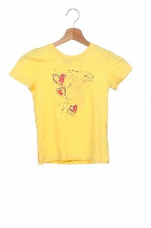 Παιδικό μπλουζάκι Tom Tailor, Μέγεθος 7-8y/ 128-134 εκ., Χρώμα Κίτρινο, Βαμβάκι, Τιμή 10,88€