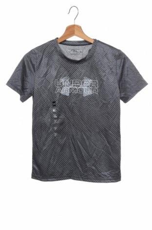 Παιδικό μπλουζάκι Under Armour, Μέγεθος 11-12y/ 152-158 εκ., Χρώμα Γκρί, Πολυεστέρας, Τιμή 15,20€