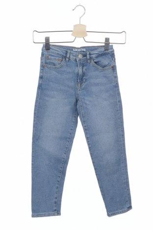 Παιδικά τζίν Zara, Μέγεθος 6-7y/ 122-128 εκ., Χρώμα Μπλέ, 99% βαμβάκι, 1% ελαστάνη, Τιμή 12,06€