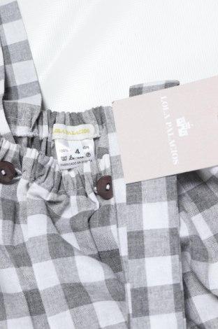 Παιδική σαλοπέτα Lola Palacios, Μέγεθος 3-4y/ 104-110 εκ., Χρώμα Γκρί, Βαμβάκι, Τιμή 11,91€