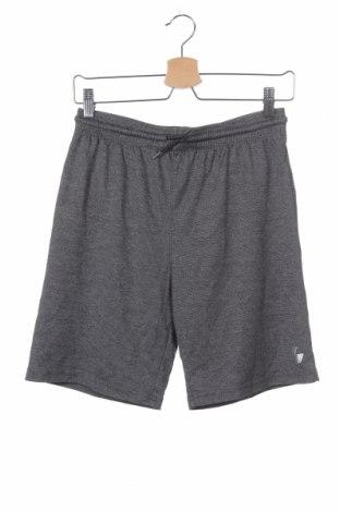 Παιδικό κοντό παντελόνι, Μέγεθος 13-14y/ 164-168 εκ., Χρώμα Γκρί, Πολυεστέρας, Τιμή 8,28€