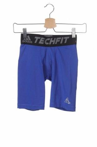 Παιδικό κοντό παντελόνι Adidas, Μέγεθος 9-10y/ 140-146 εκ., Χρώμα Μπλέ, 88% πολυεστέρας, 12% ελαστάνη, Τιμή 22,81€