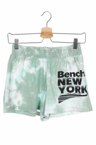 Παιδικό κοντό παντελόνι Bench, Μέγεθος 11-12y/ 152-158 εκ., Χρώμα Πράσινο, 95% βαμβάκι, 5% ελαστάνη, Τιμή 7,04€