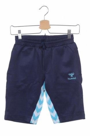 Παιδικό κοντό παντελόνι Hummel, Μέγεθος 9-10y/ 140-146 εκ., Χρώμα Μπλέ, Τιμή 8,18€